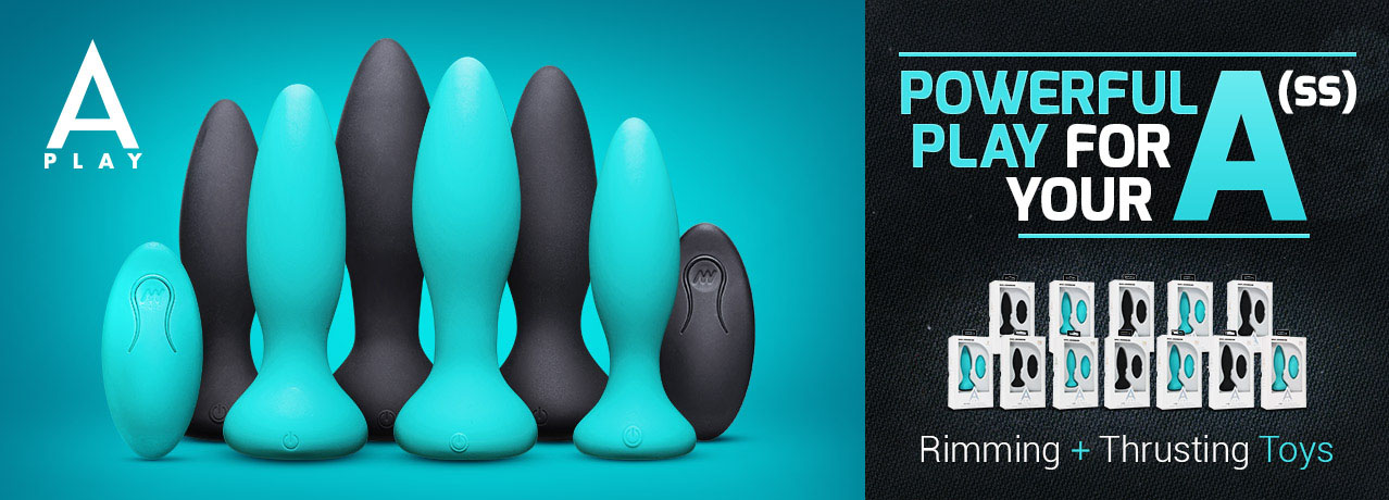 Buy A-Play Rimming and Thrusting Butt Plugs Online