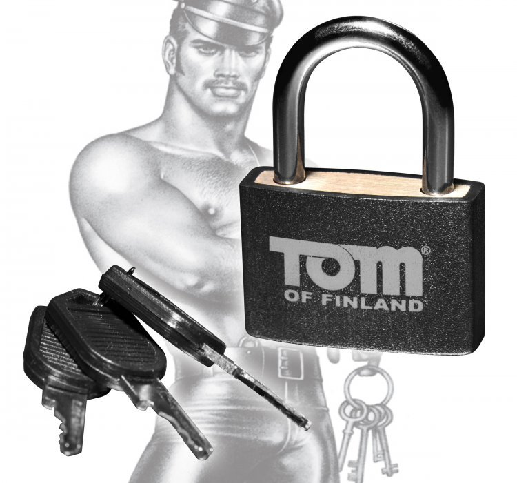 Buy Tom of Finland Metal Lock online in Australia