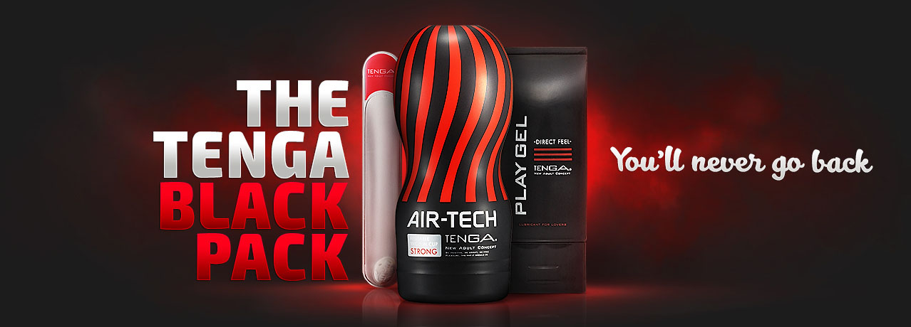 Buy the exclusive Tenga Black Pack online in Australia