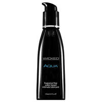 Aqua Water Based Lube 120ml