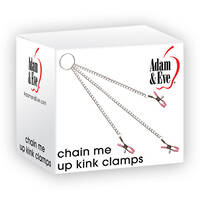 Chain Me Up Metal Nipple + Clit Clamps