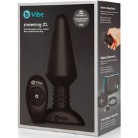 b-Vibe Rimming Plug XL Black