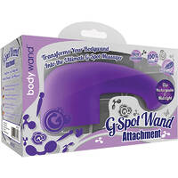 Bodywand Rechargeable G-spot Attachment Purple