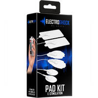 Electro Shock Pad Kit TENS Electrical Stimulation Kit