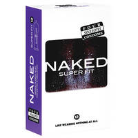 Four Seasons Naked Super Fit Sport Condoms x12