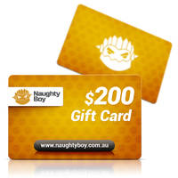 $200 Naughty Boy Gift Card
