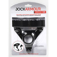 Jock Armour Jockstrap + Cock Ring by Perfect Fit