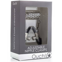 Ouch! Adjustable Nipple Clamps Metal