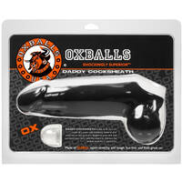 "Oxballs Daddy 10"" Cocksheath Black"