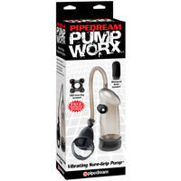 Pump Worx Vibrating Sure Grip Pump