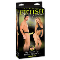 Fetish Fantasy Hollow Strap On For Him Or Her Glow In The Dark