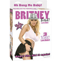 Britney Bitch Love Doll With 3 Toxic Love Holes
