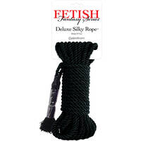 Deluxe Silk Rope Black