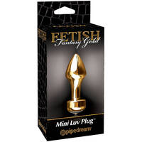 Fetish Fantasy Gold Mini Luv Plug
