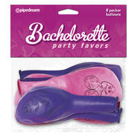 Bachelorette Party Pecker Balloons 8 Pcs