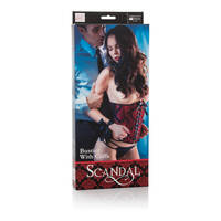 Scandal Bustier with Cuffs
