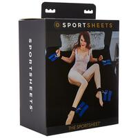 Sportsheets Queen Size Bed Sheet Cuff and Pad Set