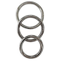 Manbound Metal Cock Ring 3 pack