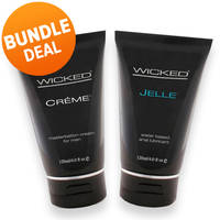Wicked Male Lube Bundle