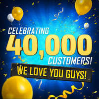 We Celebrate 40,000 Customers!