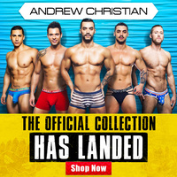 Stop Everything! ANDREW CHRISTIAN Has Landed!